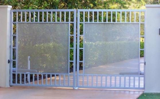 Mẫu cổng mở cánh đẹp