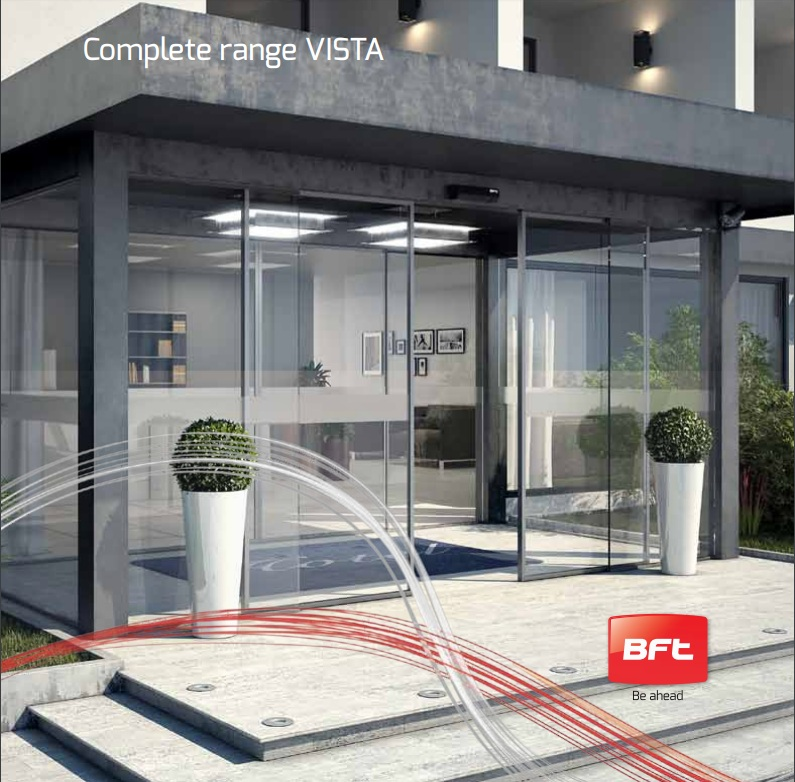 Cửa tự động VISTA made in Italy