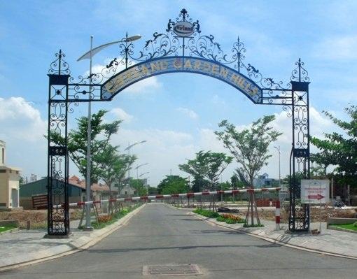 Cổng tự động Biệt Thự Cityland Phan Văn Trị