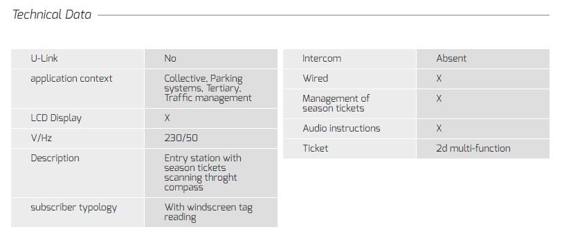 Hệ thống quản lý bãi đỗ xe ESPAS 30 - Baophuc.vn