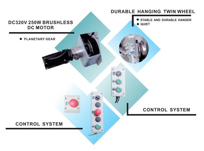 Cửa tự động KTH S-80 S-81