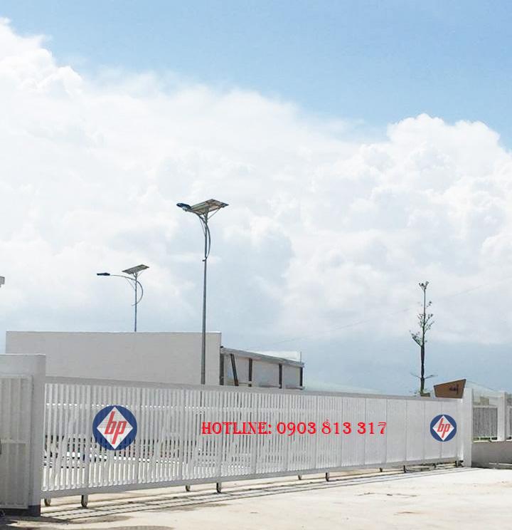 Cổng cửa tự động nhà máy - xí nghiệp - khu công nghiệp