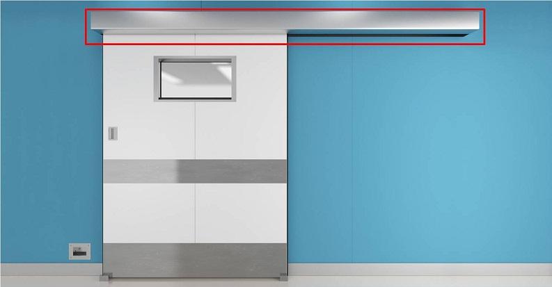 Cửa tự động NAX bệnh viện