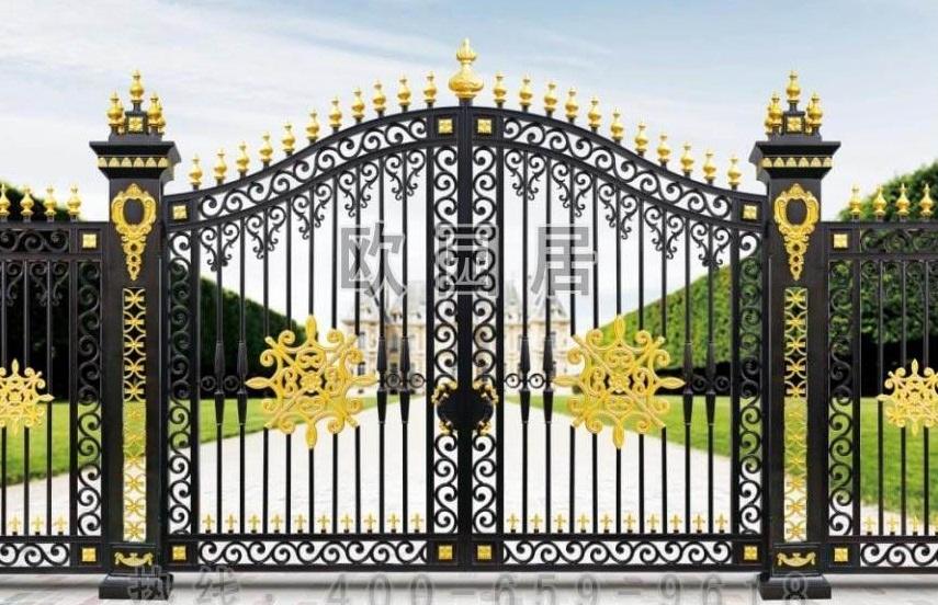 Mẫu cổng biệt thự đẹp 04