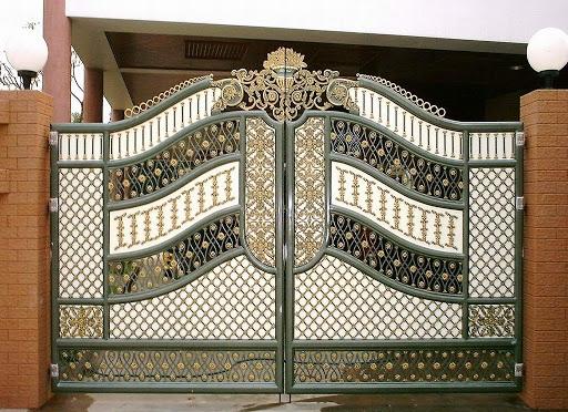 Mẫu cổng đẹp năm 2017 số 7