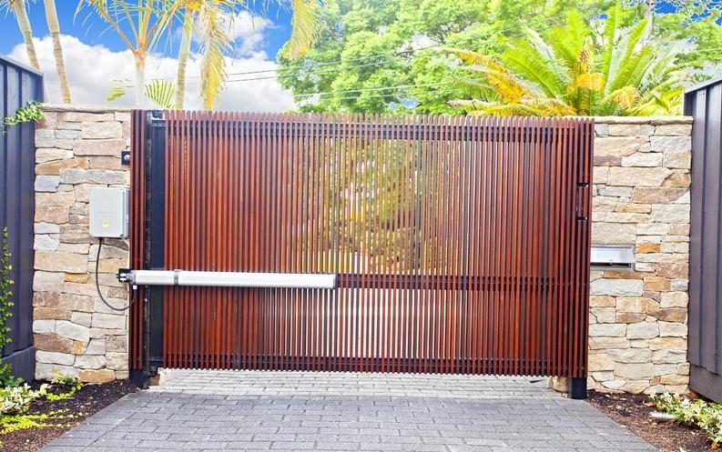 Mẫu cổng mở tự động đẹp số 9