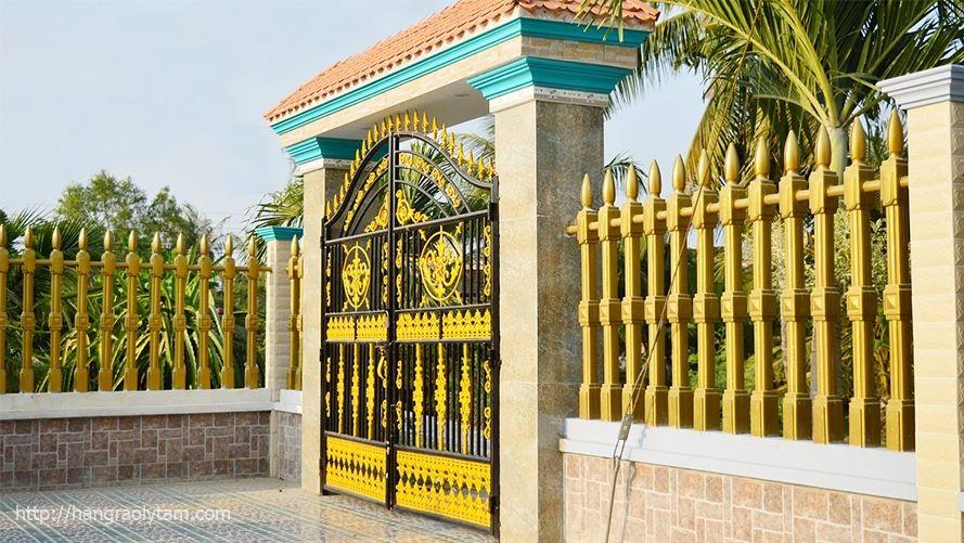 Mẫu cổng biệt thự đẹp 07