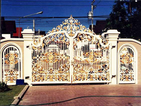 Mẫu cổng mở tự động số 10