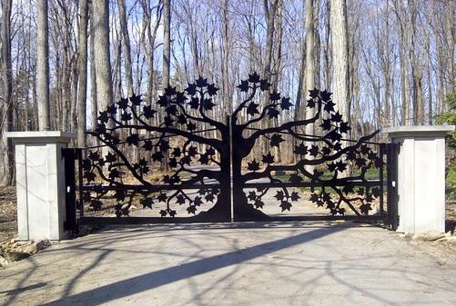 Mẫu cổng đẹp 2017 số 11
