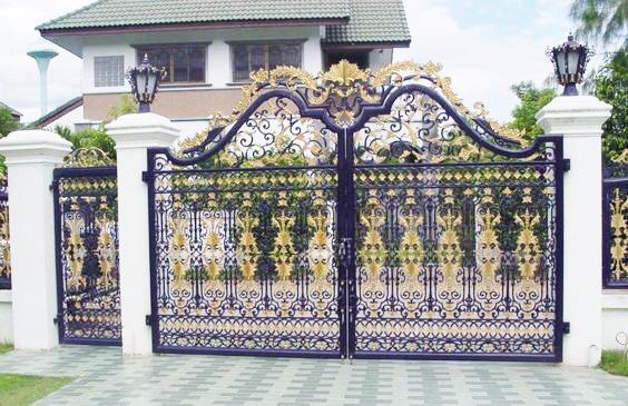 Mẫu cổng biệt thự đẹp 09