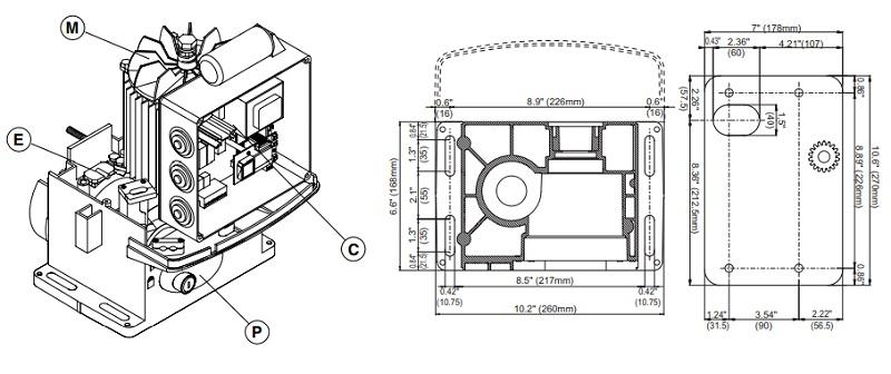 Cấu tạo và thành phần bên trong motor Icaro 2000
