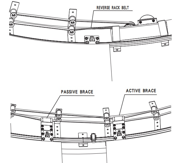 Hướng dẫn cách treo cánh cửa cong TH-R9