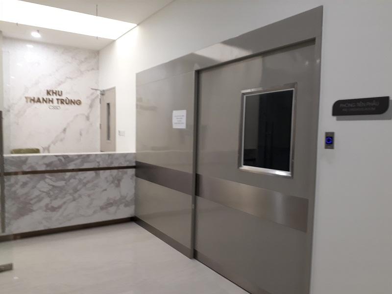 Cửa bệnh viện tự động