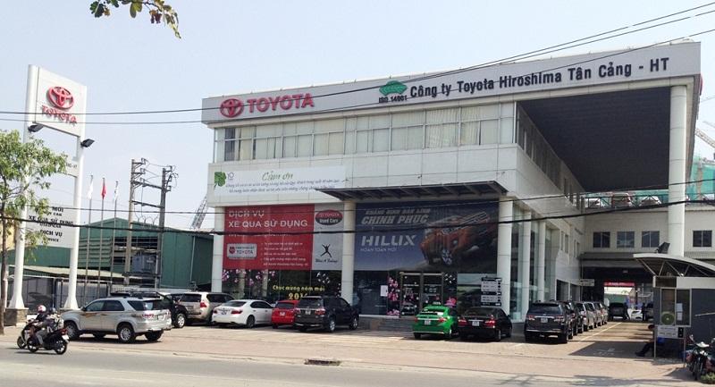 Cửa cổng tự động Showroom xe ô tô - xe máy