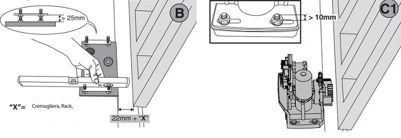 Lắp đặt cổng trượt tự động ARES BT A1000 - ARES A1500