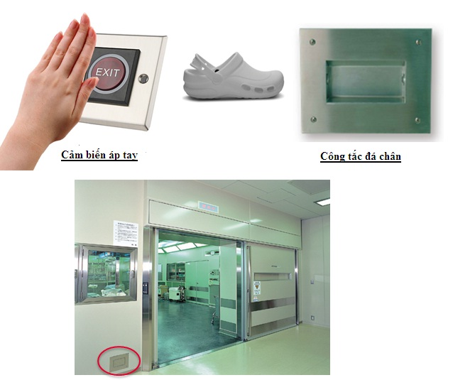 Giải pháp cửa phòng mổ bệnh viện