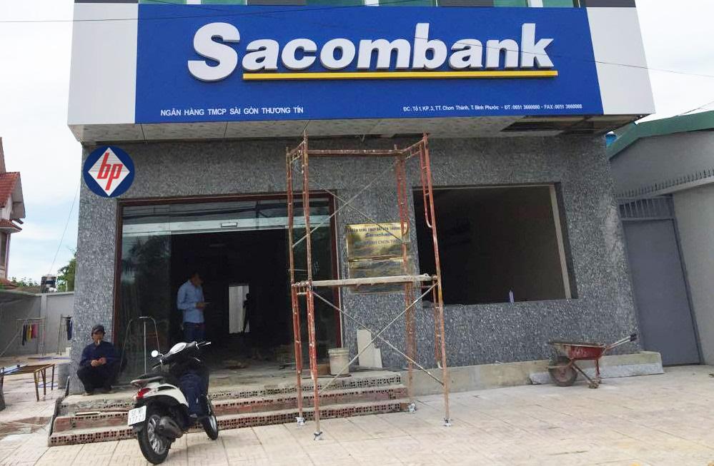 Cửa tự động ngân hàng SACOMBANK