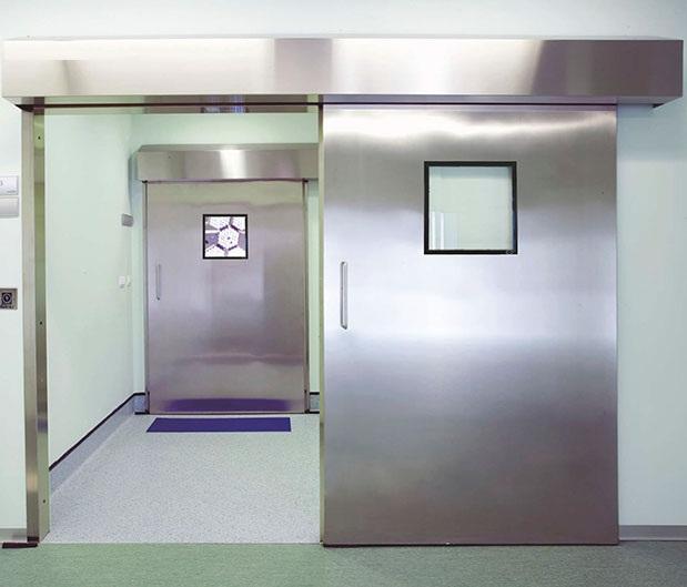 Cửa tự động phòng chụp MRI