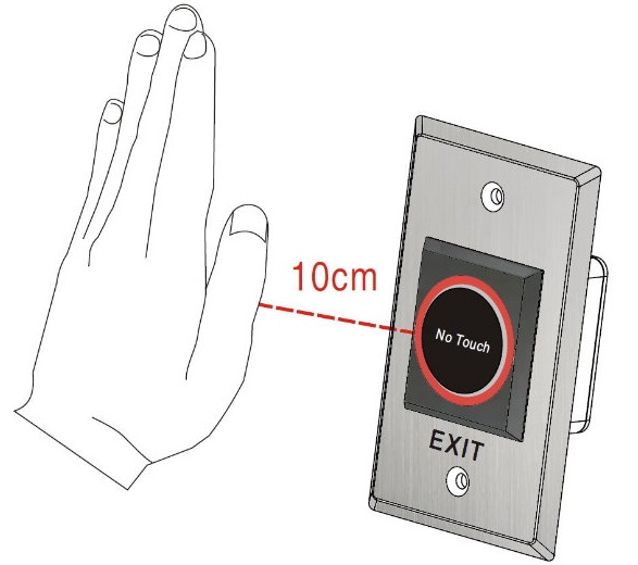 Nút nhấn cảm ứng PTE-300