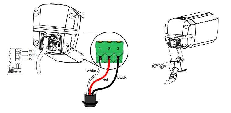 Sơ đồ lắp đặt và đấu điện cho motor cổng kustos